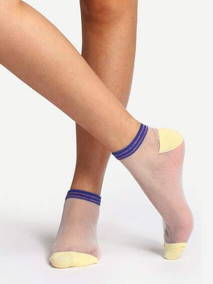 Soft Transparent Ankle Socks