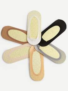 Non-slip Boat Socks - Color At Random