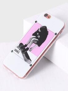 patiner fille pour iphone 6 / 6s cas