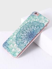 green patron floral iphone 6 / 6s cas