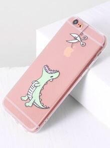 dinosaure pour mignon iphone 6 / 6s cas