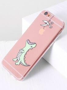 Dinosaur Print Cute iPhone 6/6s Case