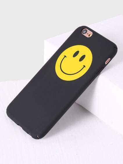 Black Smile Face iPhone 6/6s Case