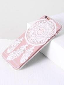 Feather Pattern iPhone 6plus Case