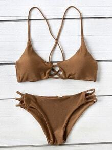 Ensemble de bikini à l'arrière