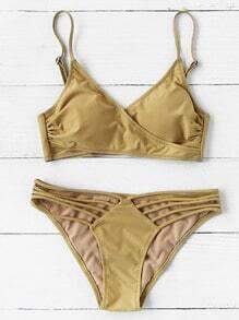 Sets de bikini cruzado zon abertura