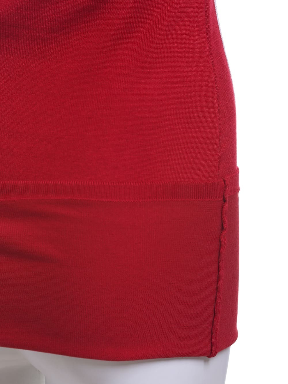 Vestido contraste tubo rojo spanish romwe for Tubo corrugado rojo precio
