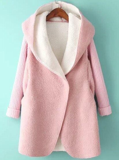 rosado capucha