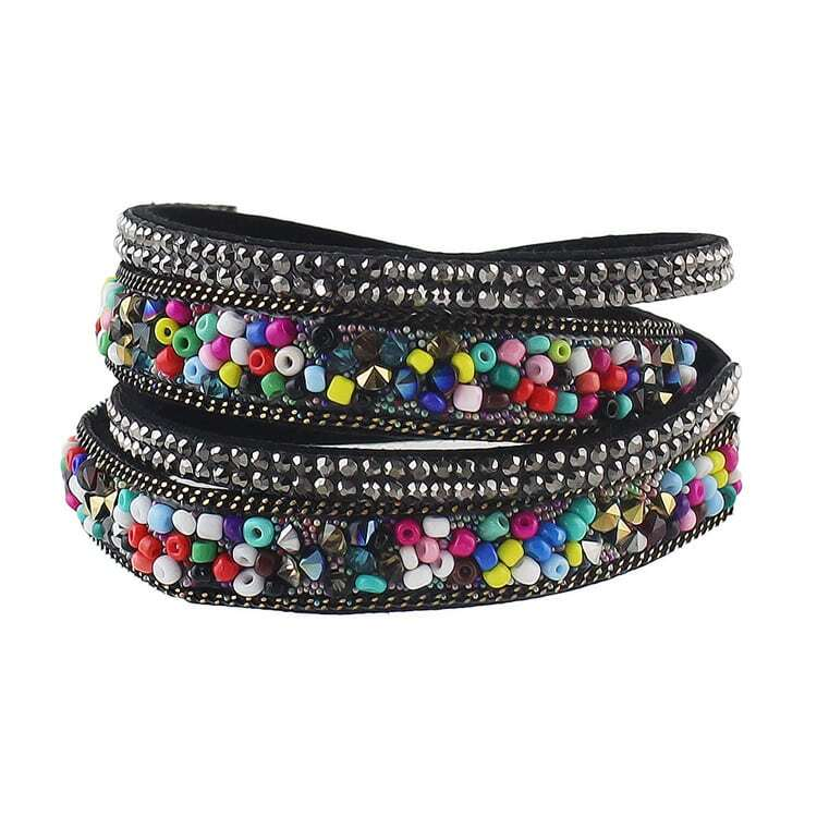 colorful multilayers wrap bracelet jewelryfor