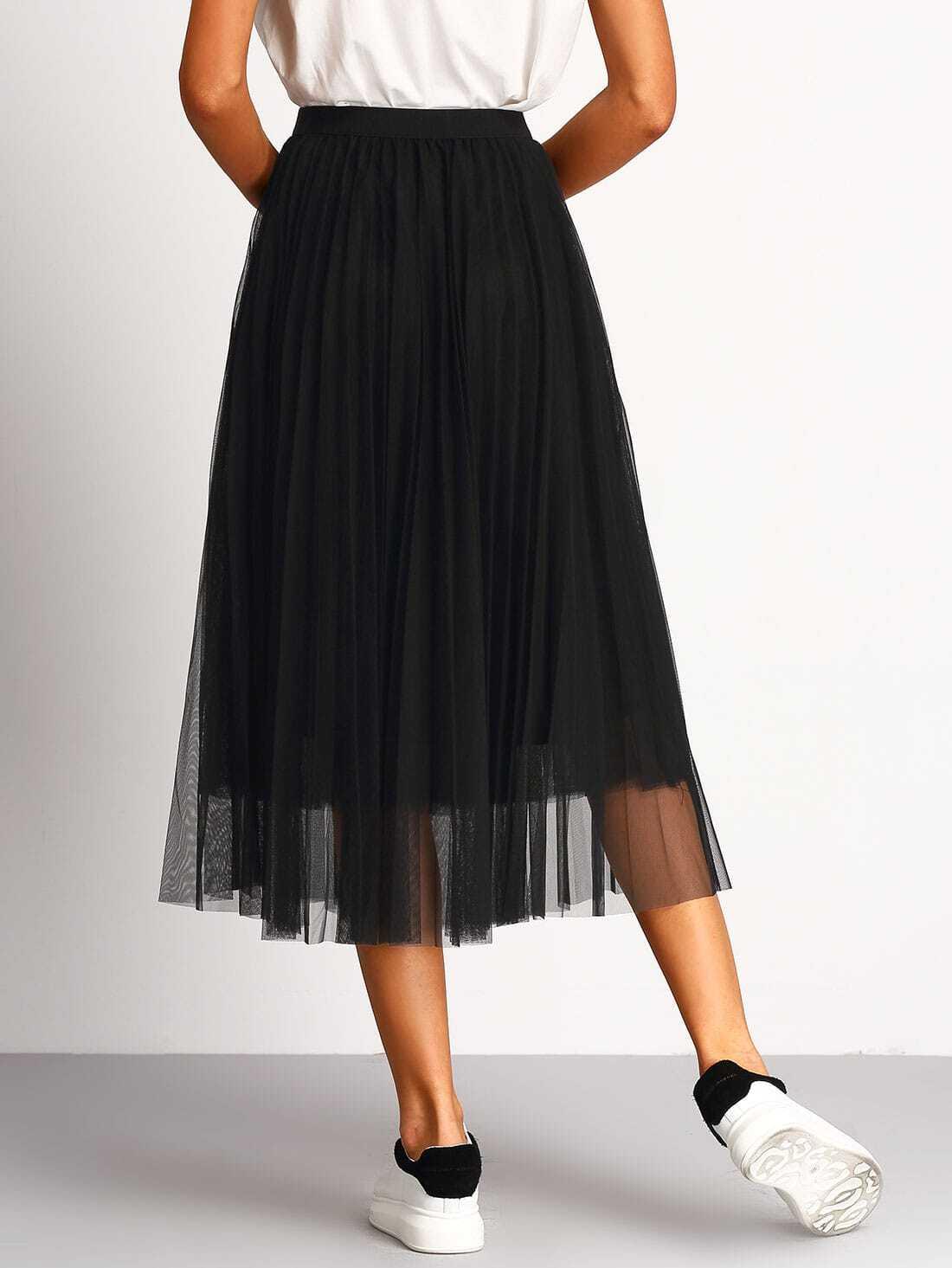 Jupe grande taille lastique pour femmes - Wittinternational