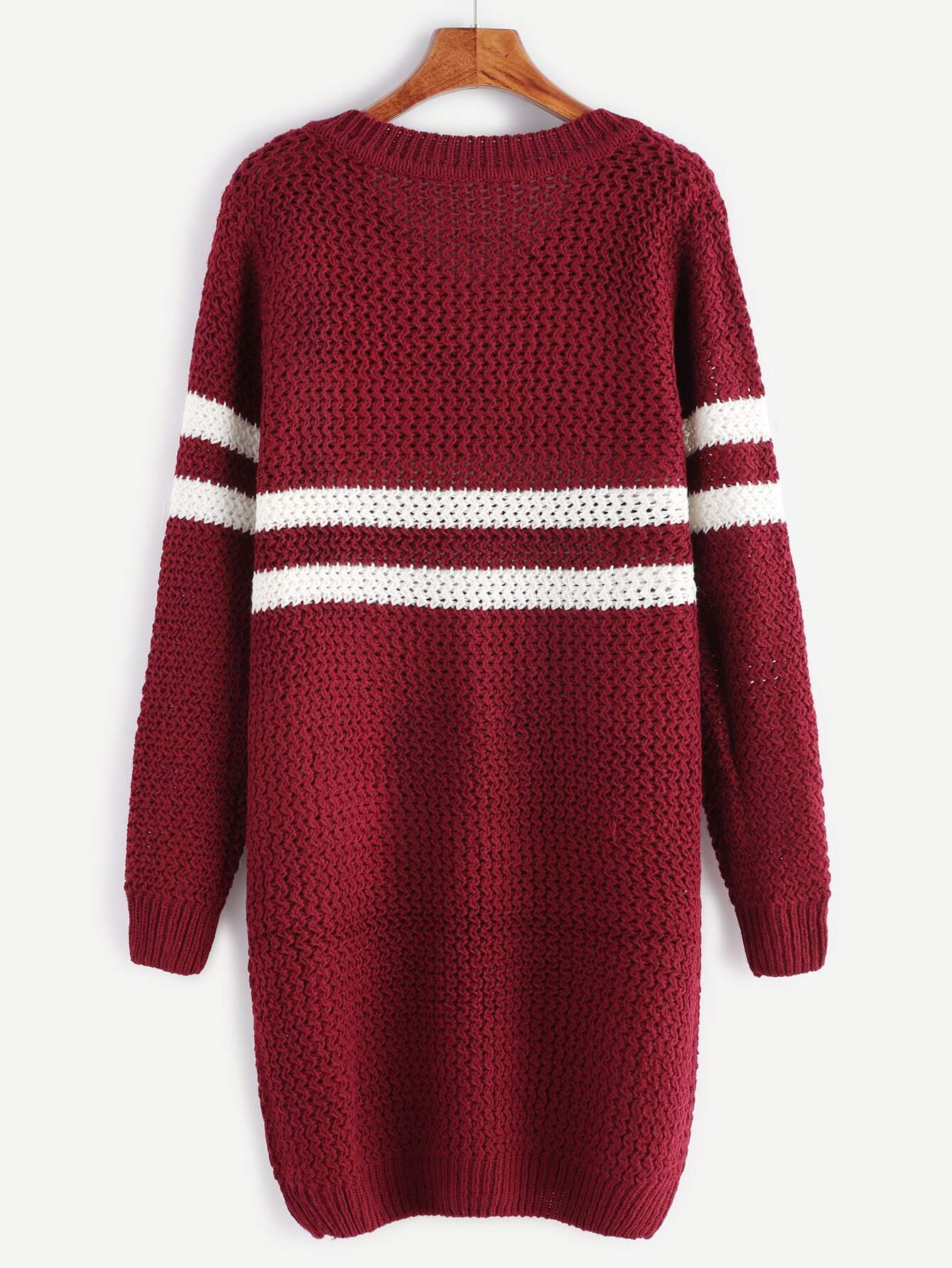 Thanks! blue and burgundy striped mens sweaters