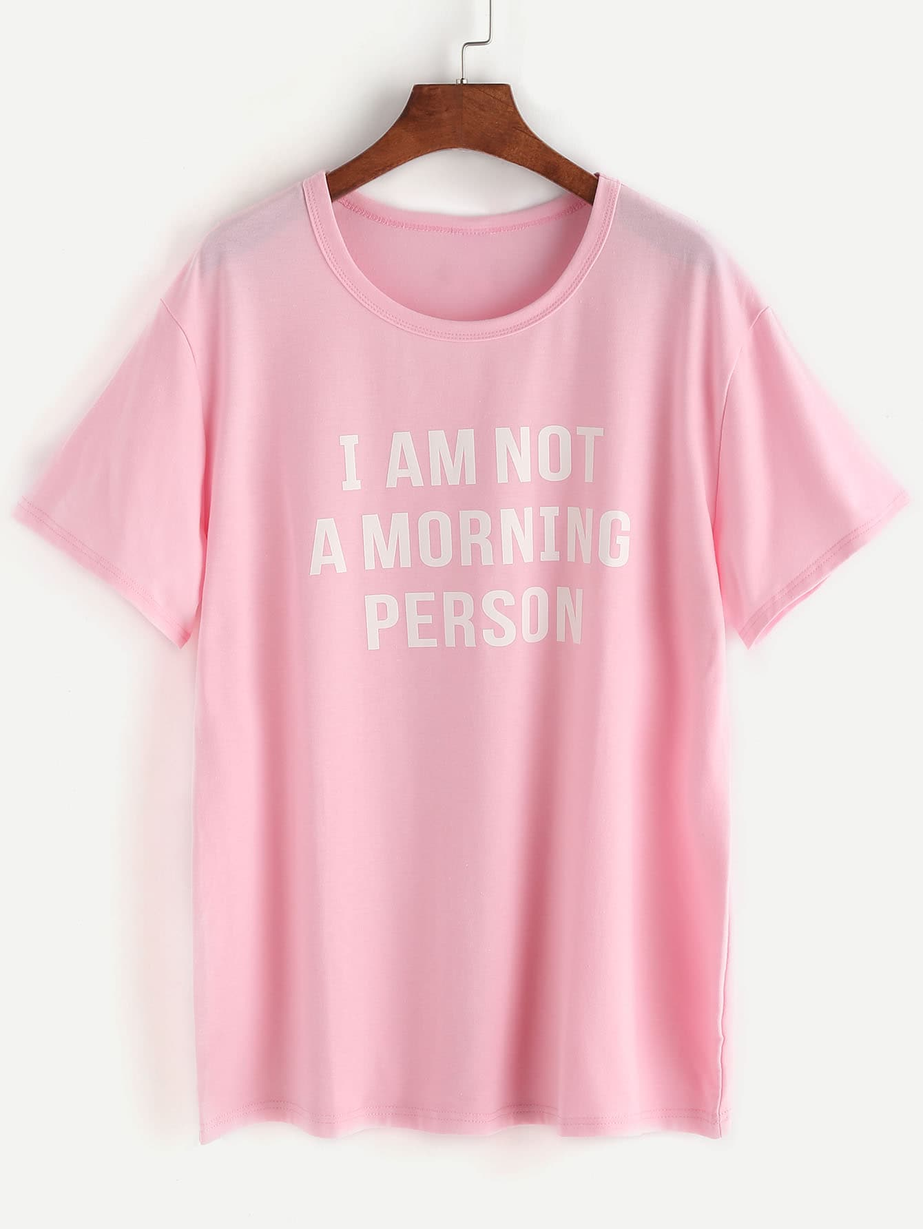 Camiseta Not a Morning Person