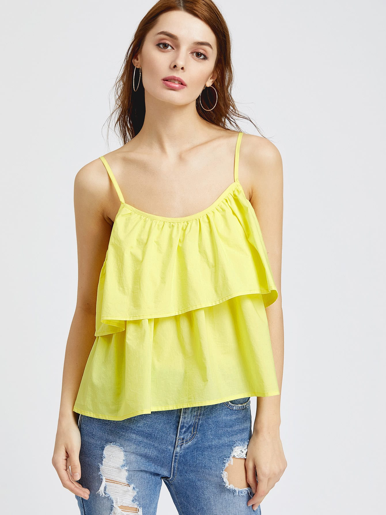 Shop for yellow cami tops online at Target. Free shipping on purchases over $35 and save 5% every day with your Target REDcard.