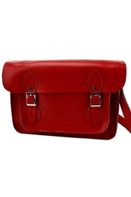 Academic Style Red Bag