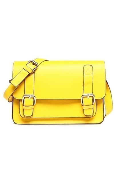 Retro Sewing Thread Yellow Bag