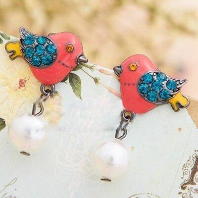 Lovely Birds Earring