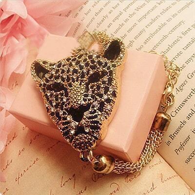 Leopard head Shinning Bracelet