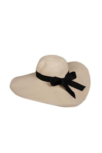 Retro Bowknot Ribbon Cream-white Lady Cap