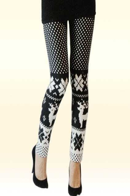 Graphic Wintertime Leggings