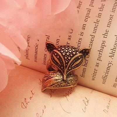 Lovely Fox Ring