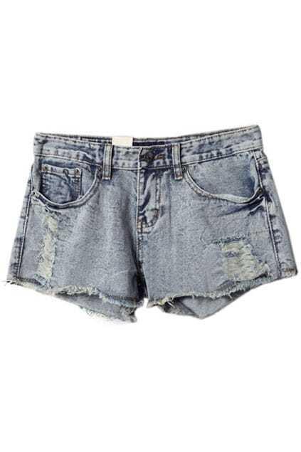 Retro Blue Short Pants