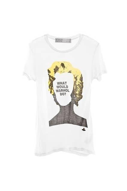 Letter Print Scoop Neck T-shirt