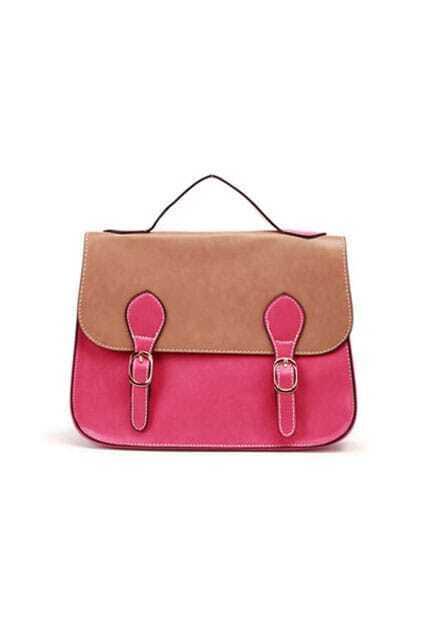 Retro Mixed-colour Rose Subtle Life Bag