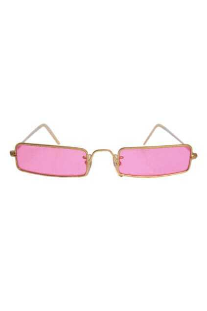 Vintage Colorful UV Protection Pink Sunglasses
