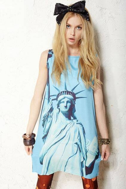 The Statue of Liberty Tank Dress