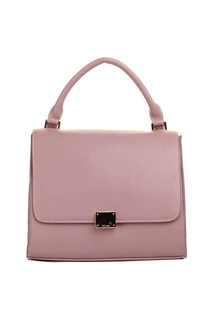 Batwing Shape Light-purple Bag