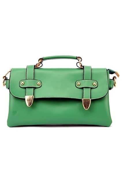 Retro Style Green Mail Bag