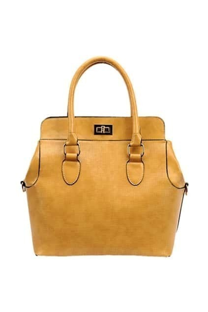 Khaki Handle Bag