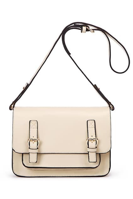 Classic Style Apricot Satchel