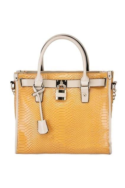 Retro Platinum Yellow Bag