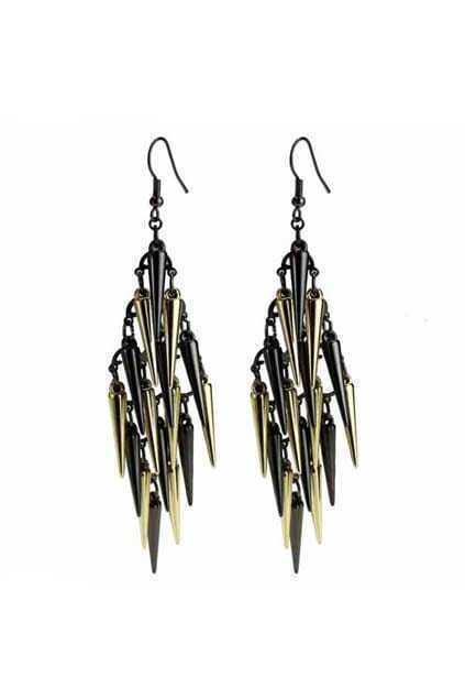 Spike Tassel Earrings