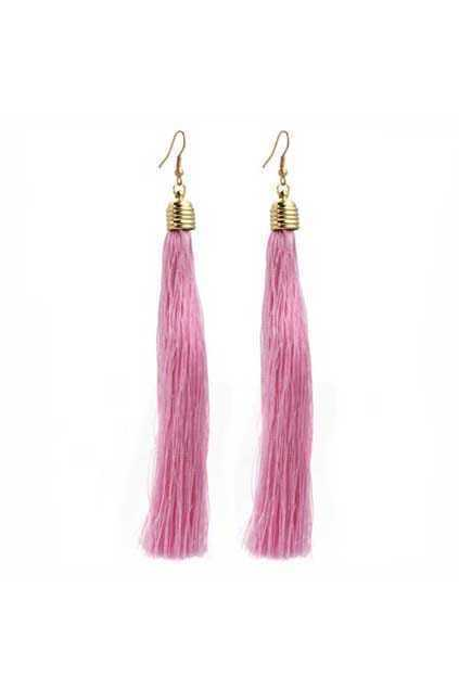 Retro Style Tassel Earrings