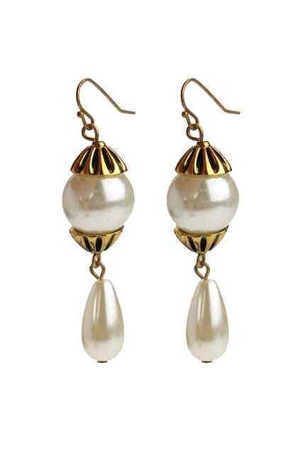 Pearls Pendant Earrings