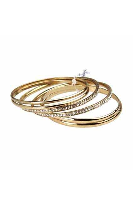 Multilevels Golden Bracelet