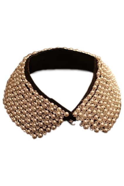 Handmade Pearl Detachable Collar