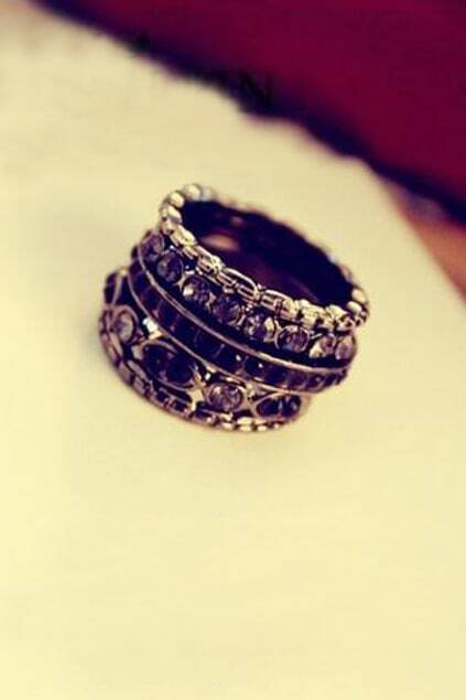 Fashion Style Multilevels Ring