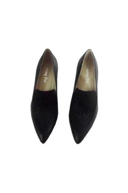 Montage Design Black Shoes
