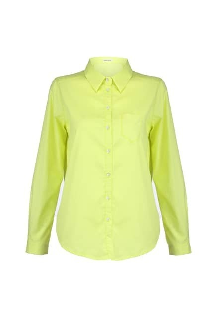 Ziped Reverse Fluorescent Shirt