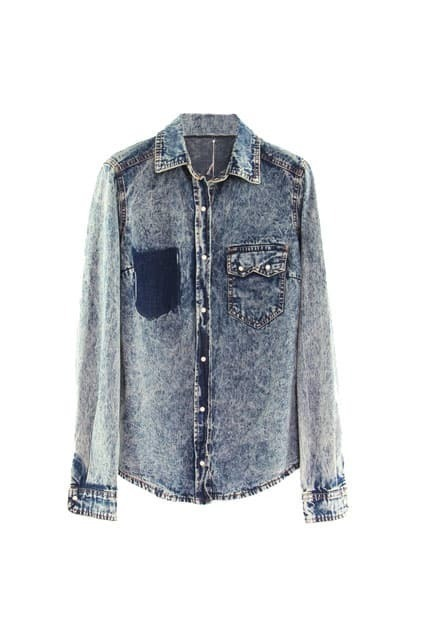 Pockets Denim Shirt