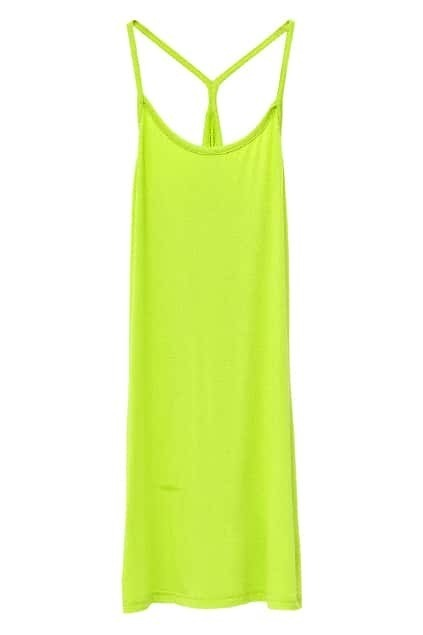 Brief Style Bottoming Green Vest