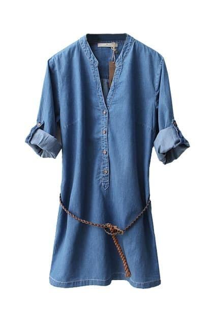 Blue Cowboy Dress