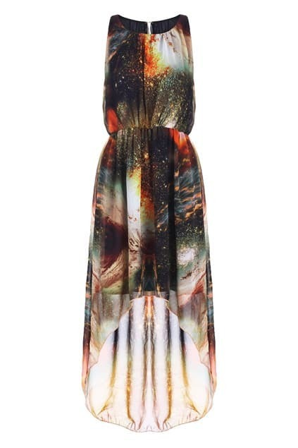 Starry Anomalous Shift Dress