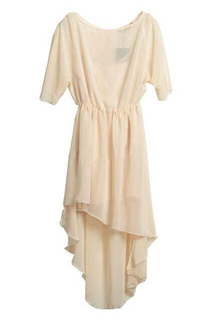 Anomalous Lower Elegant Feeling Nude Dress