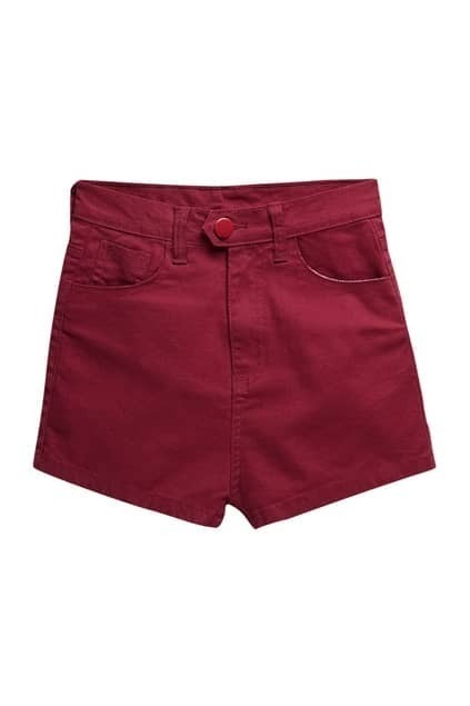 Brief Style Red Shorts