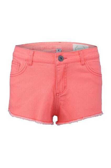 Eyelash Cuffs Fluorescent Orange Shorts