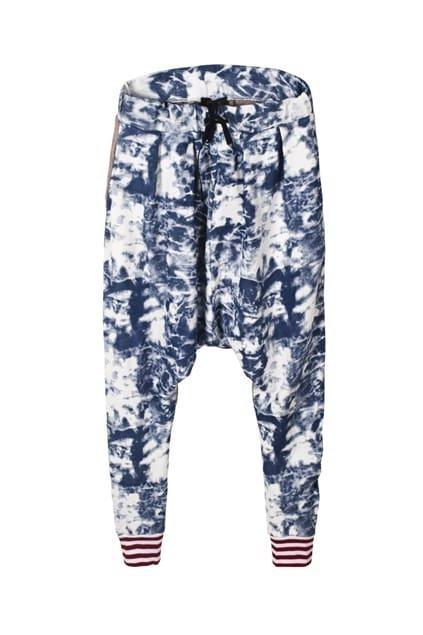 Tie-dyed Harem Pants